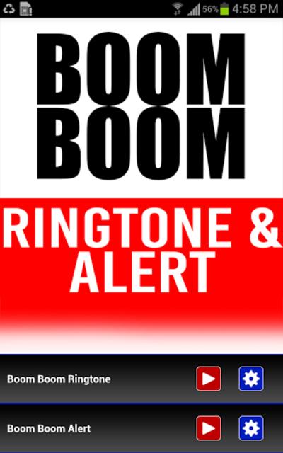 Boom Boom INTRO Ringtone screenshot 1
