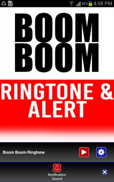 Boom Boom INTRO Ringtone screenshot 3