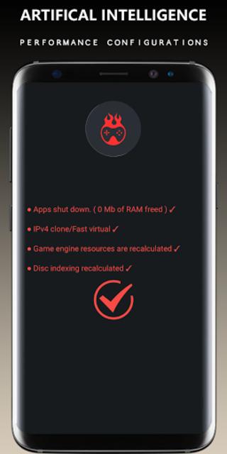 Game Booster Free Fire GFX- Lag Fix screenshot 2