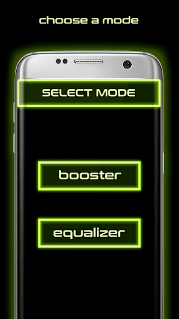 Volume booster and Equalizer screenshot 1