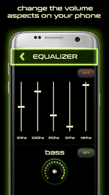 Volume booster and Equalizer screenshot 3