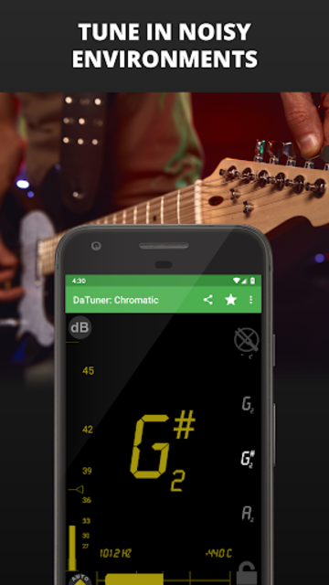 Guitar Tuner, Bass, Violin, Banjo & more | DaTuner screenshot 6