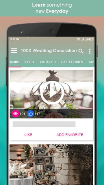 1000 Wedding Decoration Ideas screenshot 6