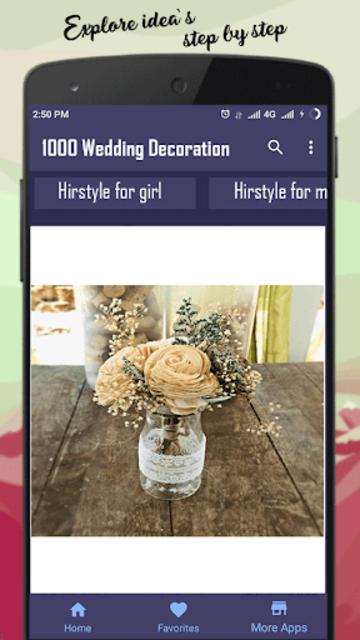 1000 Wedding Decoration Ideas screenshot 1