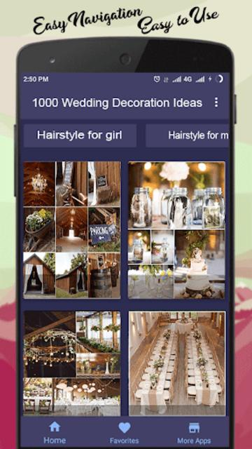 1000 Wedding Decoration Ideas screenshot 2