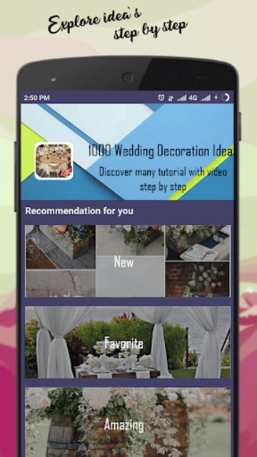 1000 Wedding Decoration Ideas screenshot 4