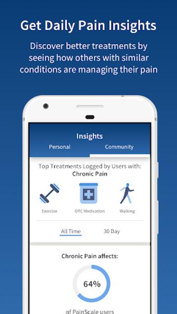 PainScale - Free Chronic Pain Tracker Diary screenshot 4