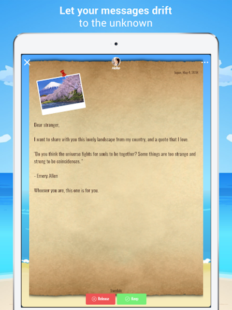 Bottled - Message in a Bottle screenshot 8