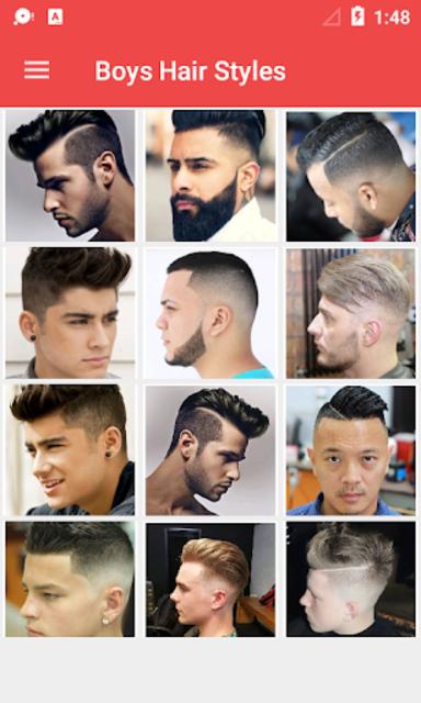 Latest Boys Hairstyle 2019 screenshot 1