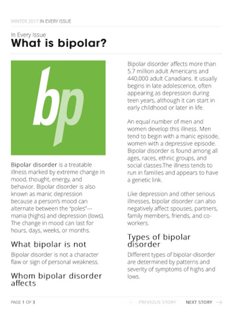 bp Magazine for Bipolar screenshot 7