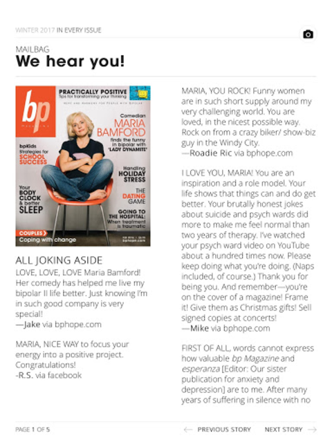 bp Magazine for Bipolar screenshot 8