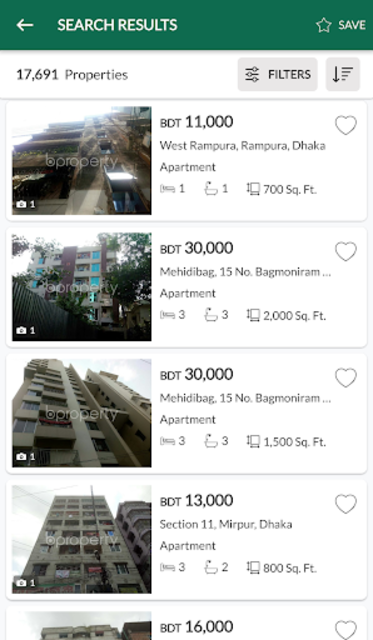 Bproperty: Bangladesh Property screenshot 5