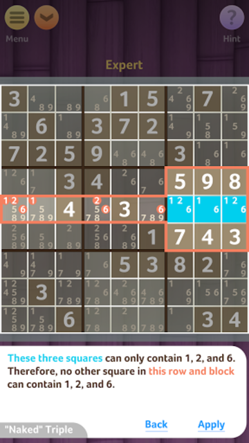 Sudoku+ screenshot 4