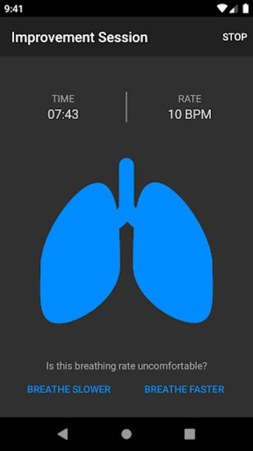 BreathingApp — Breath Trainer screenshot 1