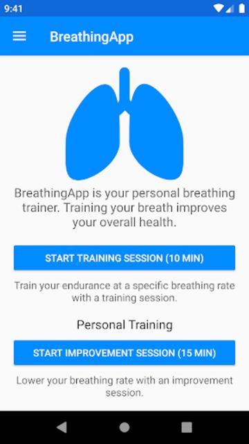 BreathingApp — Breath Trainer screenshot 2