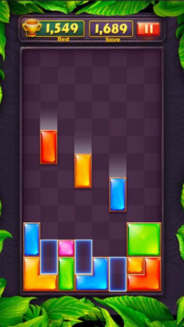 Brickdom - Drop Puzzle screenshot 1