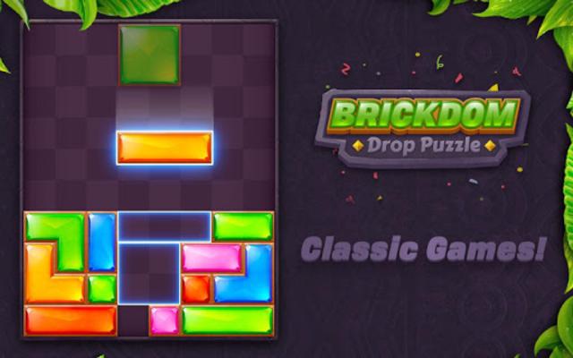 Brickdom - Drop Puzzle screenshot 15