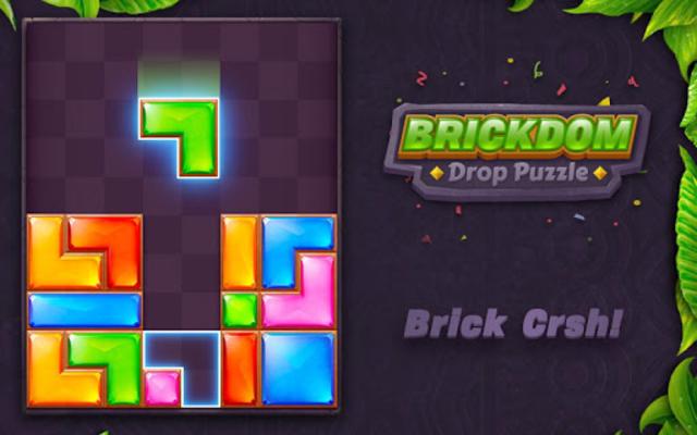 Brickdom - Drop Puzzle screenshot 16