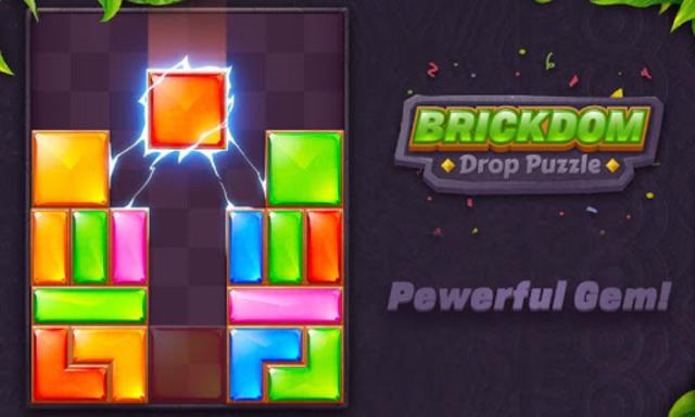 Brickdom - Drop Puzzle screenshot 22