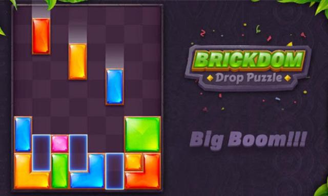 Brickdom - Drop Puzzle screenshot 23