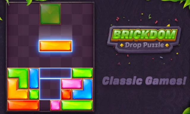 Brickdom - Drop Puzzle screenshot 24