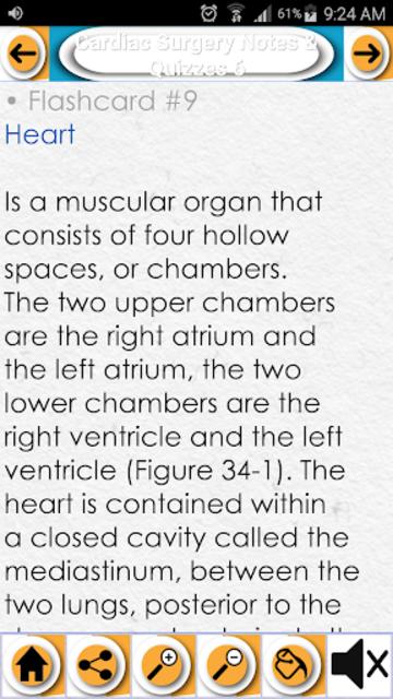 Cardiac Surgery Exam Review- Quizzes & Study Notes screenshot 3
