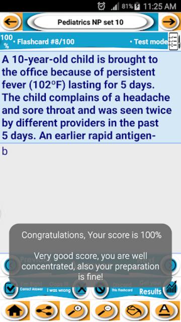 Nurse Practitioner Exam review- Concepts & Quizzes screenshot 6