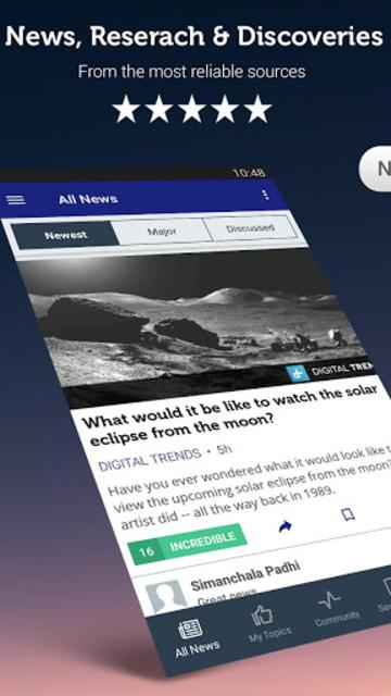 Space & Astronomy News screenshot 1
