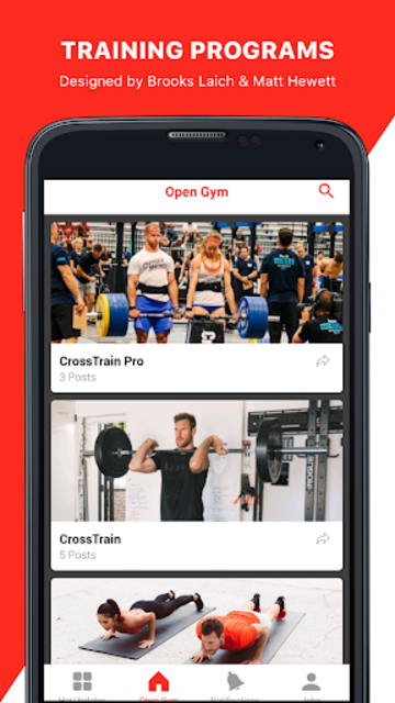 Open Gym: Training Programs screenshot 1