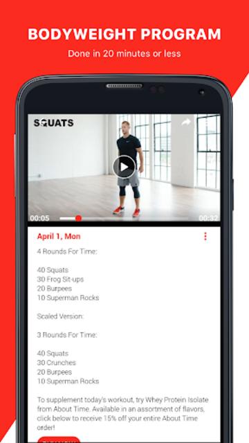 Open Gym: Training Programs screenshot 4