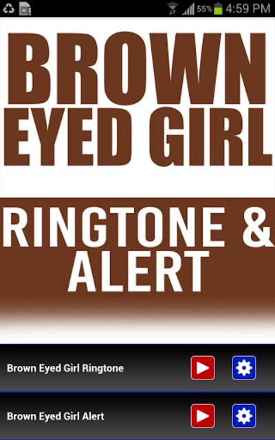Brown Eyed Girl INTRO Ringtone screenshot 1