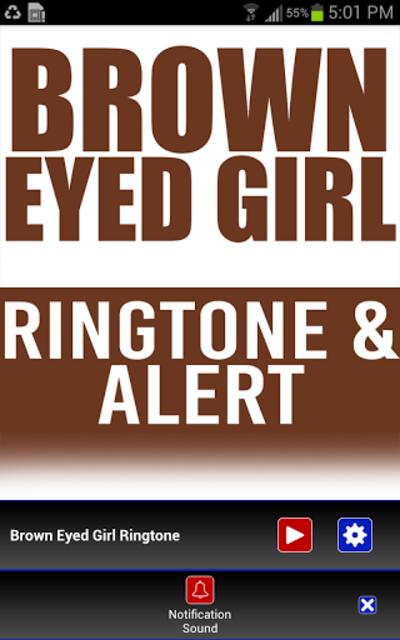 Brown Eyed Girl INTRO Ringtone screenshot 2
