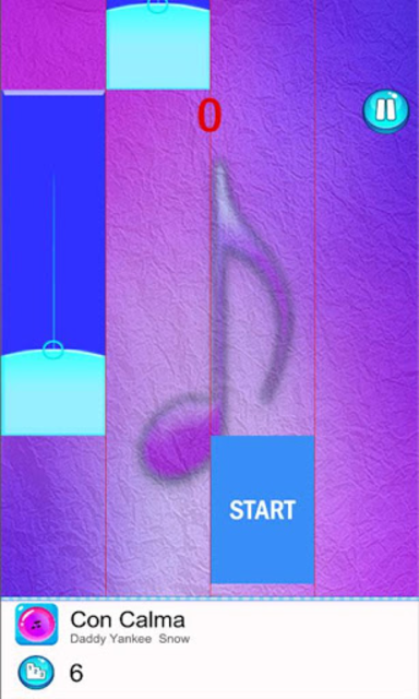 Daddy Yankee - Easy Piano Game Tiles screenshot 3