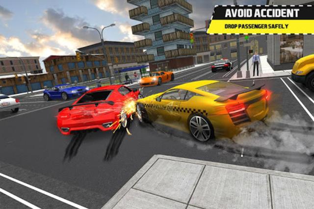 Taxi Simulator Driving 3D screenshot 5
