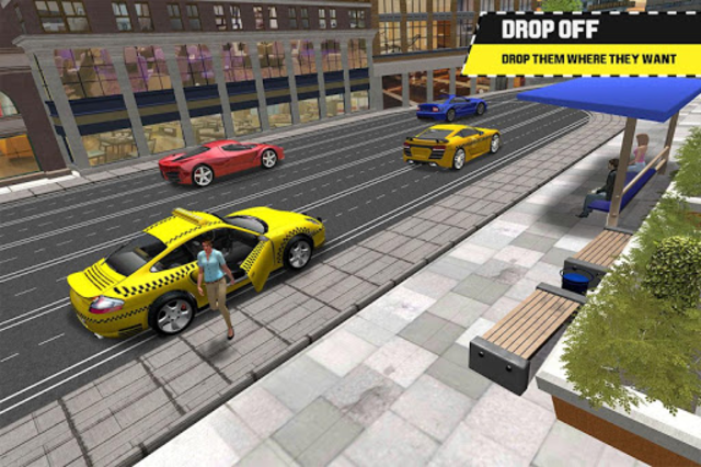Taxi Simulator Driving 3D screenshot 7