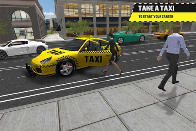 Taxi Simulator Driving 3D screenshot 2