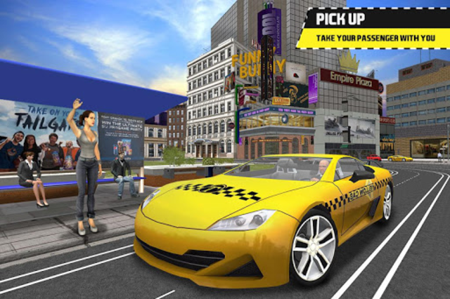 Taxi Simulator Driving 3D screenshot 17