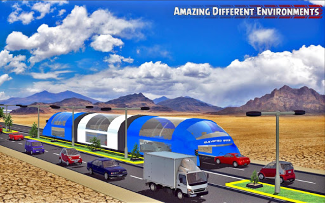 China elevated bus drive screenshot 5