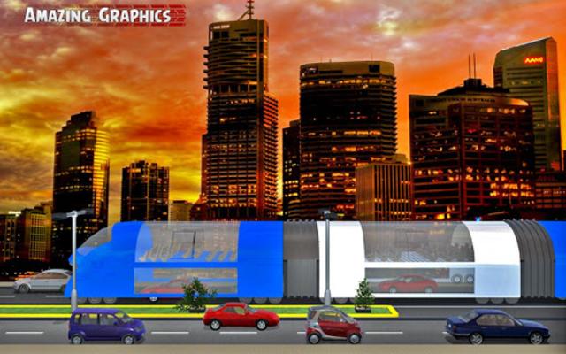 China elevated bus drive screenshot 7