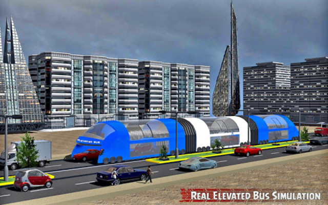 China elevated bus drive screenshot 14