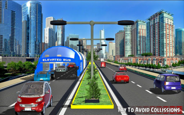 China elevated bus drive screenshot 15