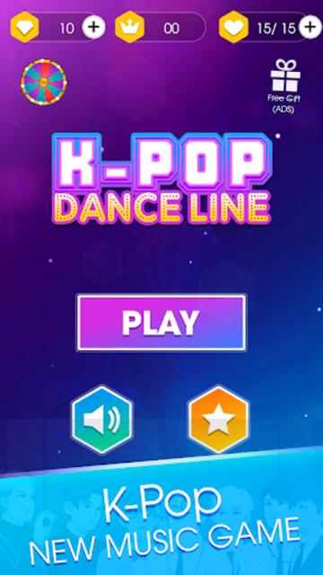 Kpop Dance Line - Magic Tiles Dancing With Idol screenshot 3