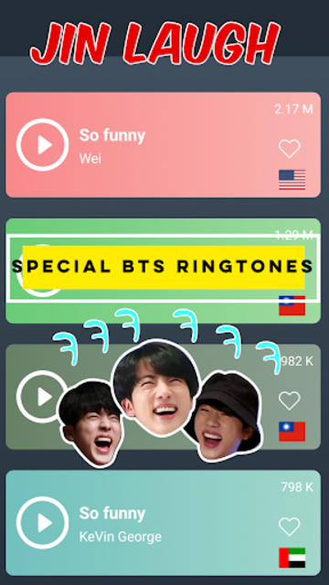 BTS Ringtones Hot For Army screenshot 2