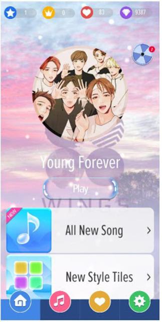 Magic Piano Tiles BTS - New Songs 2019 screenshot 1