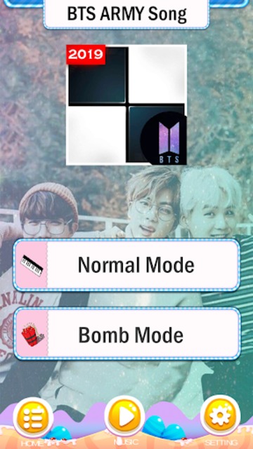 BTS Army Magic Piano Tiles 2019 - BTS Army games screenshot 2