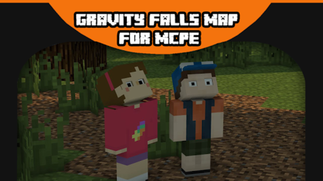 Gravity Falls Map for MCPE screenshot 1