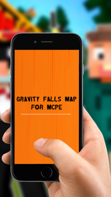Gravity Falls Map for MCPE screenshot 2