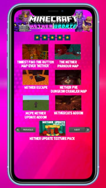 MCPE new Nether Update screenshot 6