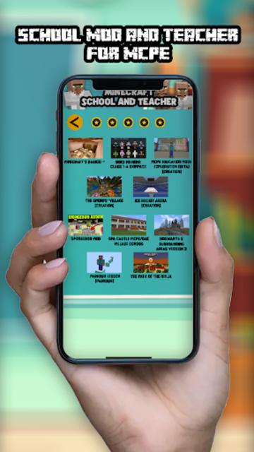 School Mod and Teacher for MCPE screenshot 4