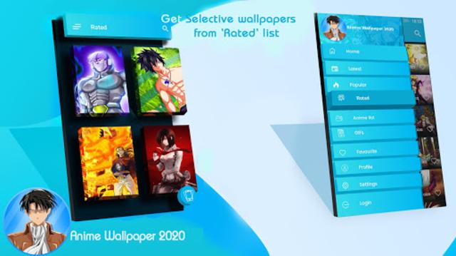 Top Anime Wallpapers 2020 screenshot 3